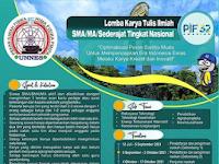 Lomba Karya Tulis Ilmiah SMA/MA/Sederajat Tingkat Nasional 2021 di UNNES