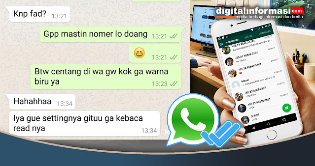 cara menghilangkan centang biru di whatsApp, menghilangkan centang biru di whatsApp, Cara menghilangkan tanda centang biru di WhatsApp, centang biru di whatsApp, cara non aktifkan centang biru di whatsApp
