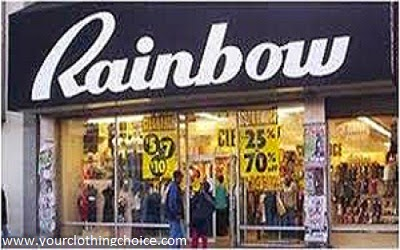 Rainbows clothing store website