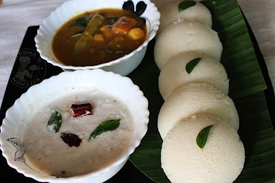 tips for making soft idlis along with detailed pics..south indian idli / breakfast recipe