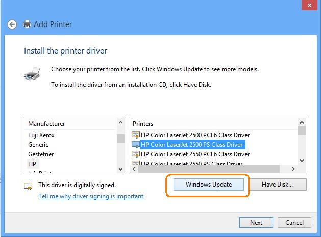 Download HP Printer Driver
