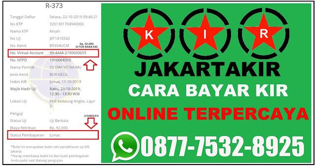 Jasa kir jakata, biro jasa kir Jakarta, cara pembayaran e kir Jakarta, cara daftar e kir Jakarta,  cara bayar e kir jakarta