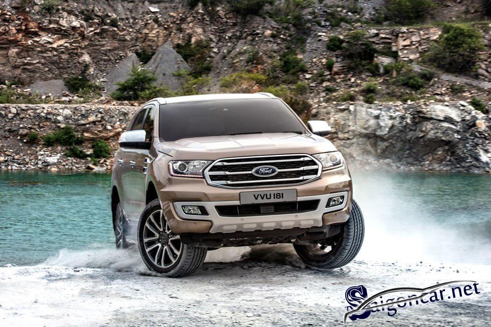 Ford Everest titanium 2019