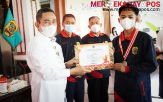 Kontingen Kabupaten Pati berhasil meraih juara umum 2  Popda Jateng 2021
