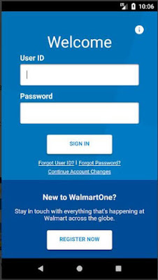 Wamartone login in mobie with user id and password