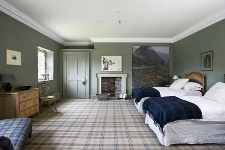 interior english style the bedroom