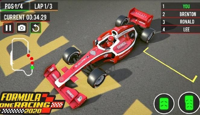 Permainan Balap Mobil F1 Formula Racing Car di Android