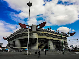 The Stadio Giusppe Meazza in the San Siro district has been AC Milan's home since 1926