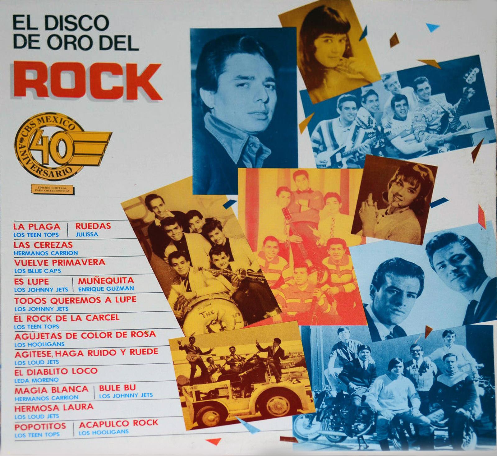 CD Disco de oro del rock mexicano El%2BDisco%2Bde%2BOro