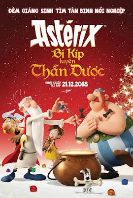 Xem Phim Asterix Và Bí Mật Thần Dược - Asterix: Secret Of The Magic Potion