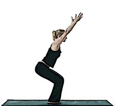 yoga for healthy aging featured pose powerful pose