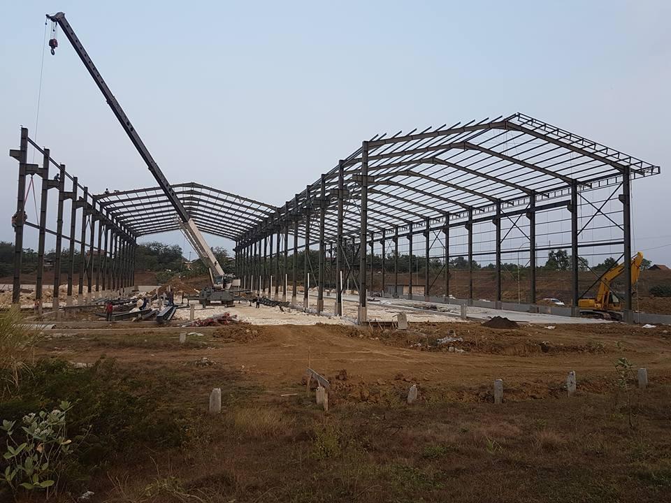 Jasa konstruksi baja WF,Jasa Konstruksi baja Konvensional,borongan konstruksi baja,pemborongan bangunan gudang,jasa konstruksi baja pergudangan di cikarang