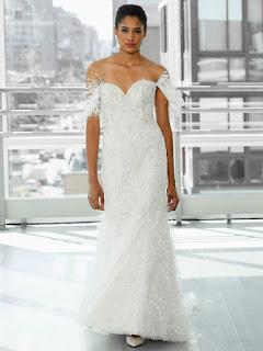 فستان من  Justin Alexander