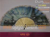 Souvenir Kipas Kunjungan dengan sablon full color