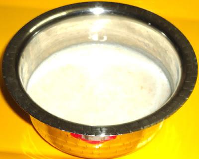 lychee juice in a vessel