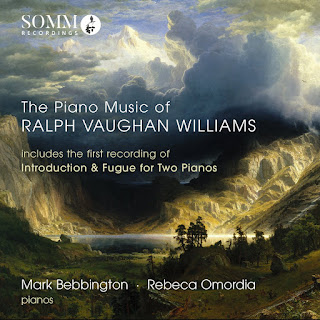 Vaughan Williams piano music - SOMM - Mark Bebbington, Rebeca Omordia