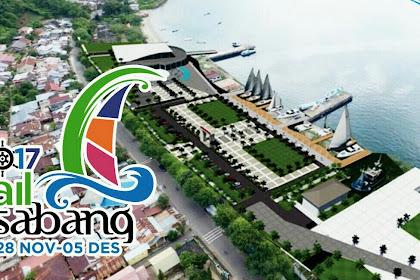Sail Sabang 2017, Sail Indonesia Seri ke-9 di Kota Sabang