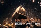 Wallpaper Engine Dark Light Hatsune Miku