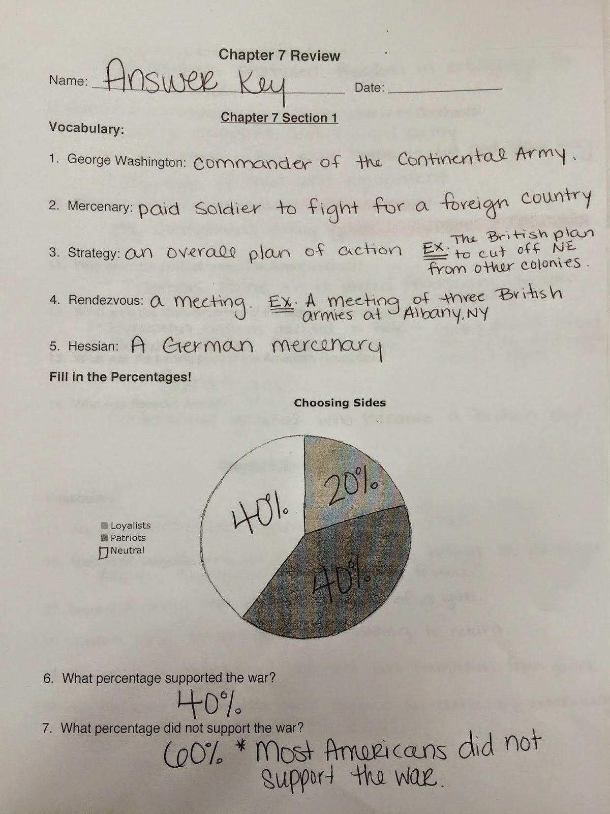 Chapter 12 Social Stu S Test 8th Grade