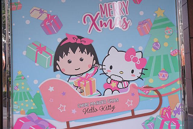 DSC08299 - 台中聖誕節活動│小丸子 hello kitty摩天輪與聖誕村造景就在台中新光三越搶先看