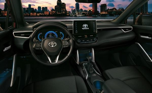 Interior Toyota Corolla Cross