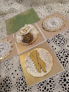 Złoty box na 50 rocznicę ślubu – złote gody