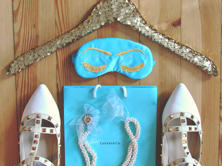 Enter for your chance to win TWO Holly Golightly inspired sleep masks by Sleepy Cottage hosted and styled by GlitterAndBow blog
