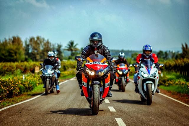 tips menunggang superbike