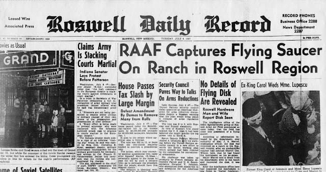 Caso Roswell, Ufologia, Extraterrestre, Casos Ufológicos, Roswell, OVNIS, Extraterrestres, Avisamentos de OVNIS