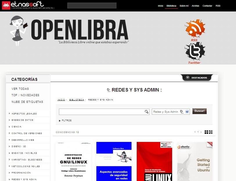 Tecnología Habitual: Consultar Biblioteca De Ebooks Gratis