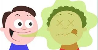 Bau mulut pada anak kronis