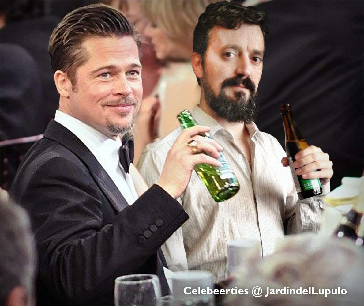 Celebeerties: Brad Pitt
