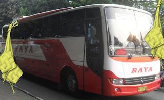 Harga Tiket Lebaran 2016 Bus Raya