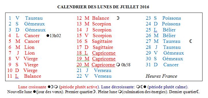 Horomag calendrier lune de juillet - Calendrier des lunes 2016 ...