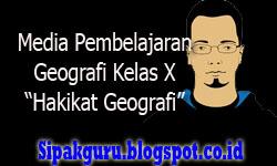 Media Pembelajaran Geografi Kelas X