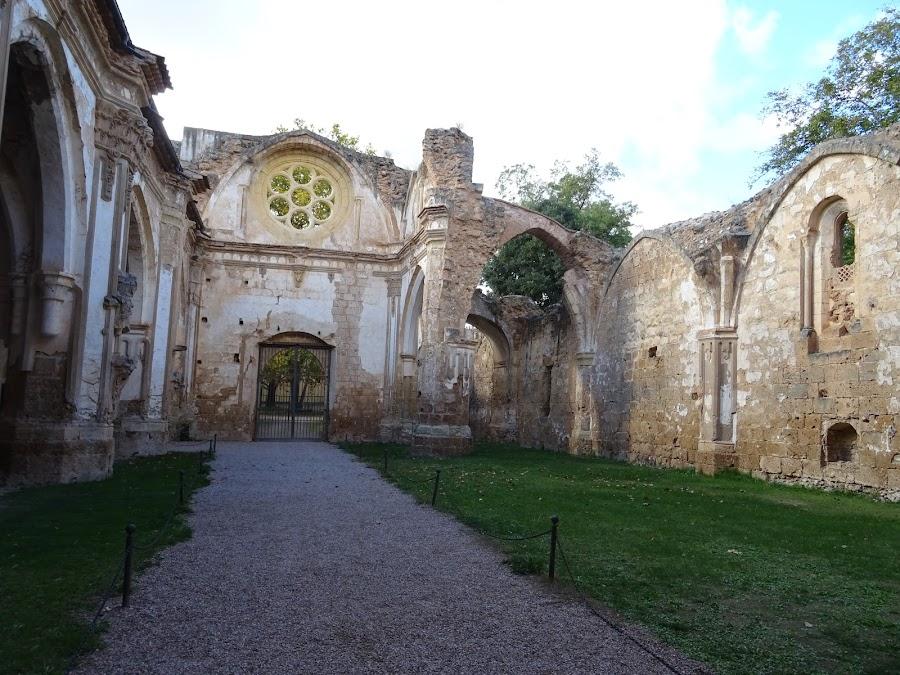 Iglesia del Monasterio de Piedra a causa de la Desamortización