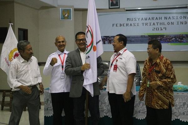 Brigjen TNI Joko Warsito Terpilih Menjadi Ketua Umum Federasi Triathlon Indonesia Secara Aklamasi