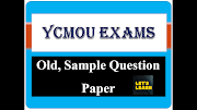 YCMOU Old, Sample Question papers