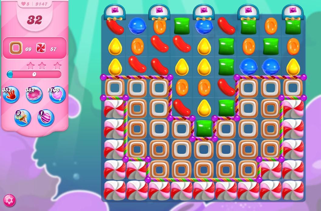Candy Crush Saga level 9147