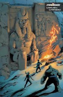 Doce portadas diferentes para Kang the Conqueror.