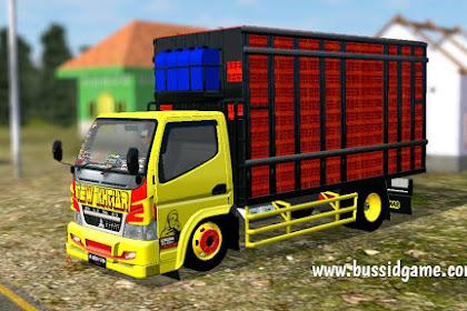 Mod Truck Canter Keranjang Ayam New Ikhtiar By RMC Creation