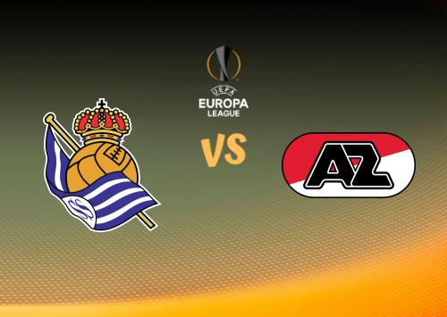 Real Sociedad vs AZ Alkmaar  Resumen