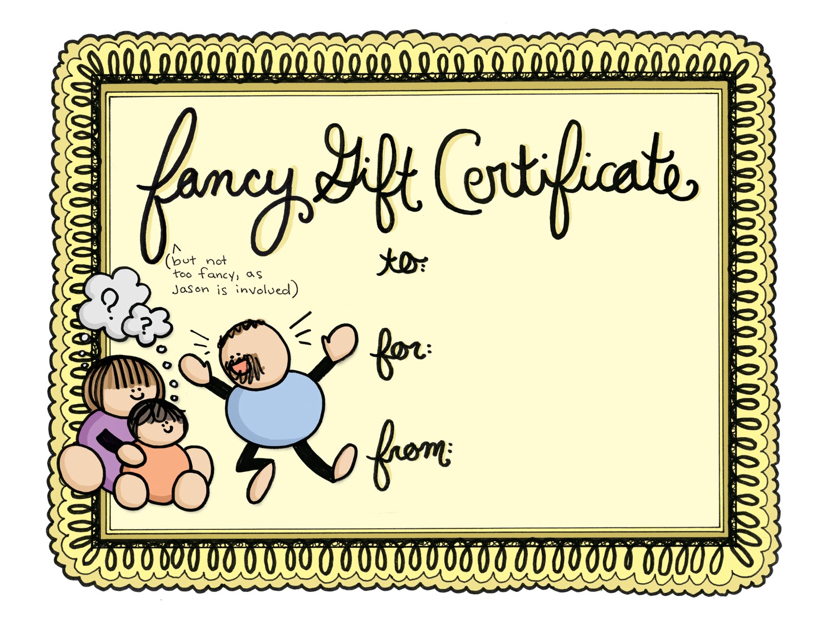 Babysitting gift certificate designs templates tattoo for Babysitting gift certificate template
