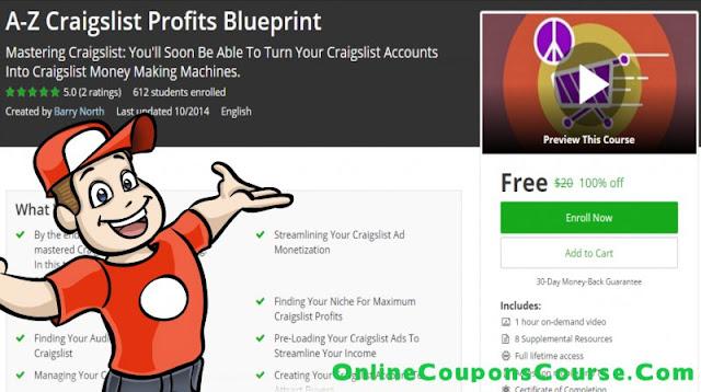 [100% Off] A-Z Craigslist Profits Blueprint| Worth 20$