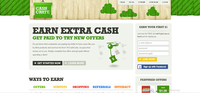 Complete Offers,Earn Cash Rewards,CashCrate