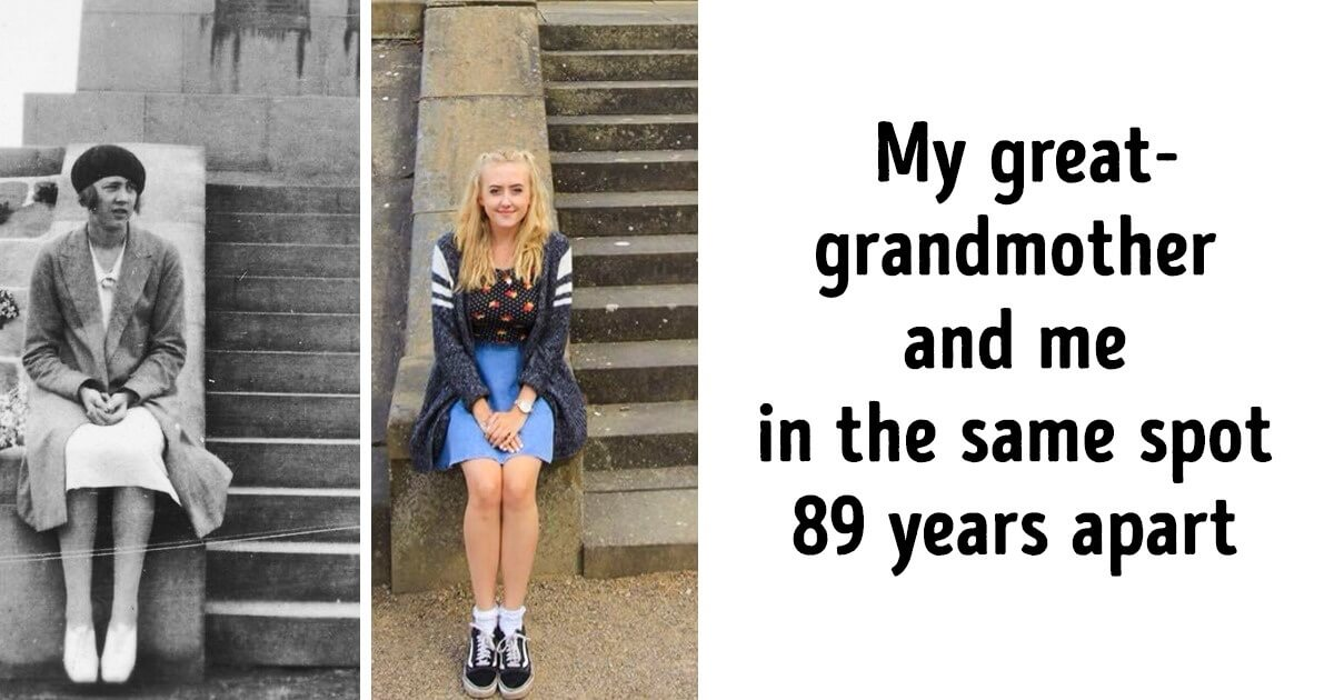 24 Then & Now Pictures That Show How Time Changes Us