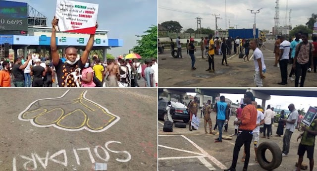 #EndSARS Protest Resumes In Lagos, Abuja, Others
