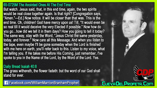 This is the end time - William Branham Quotes