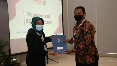 BP Batam Terima SK Penugasan PNS