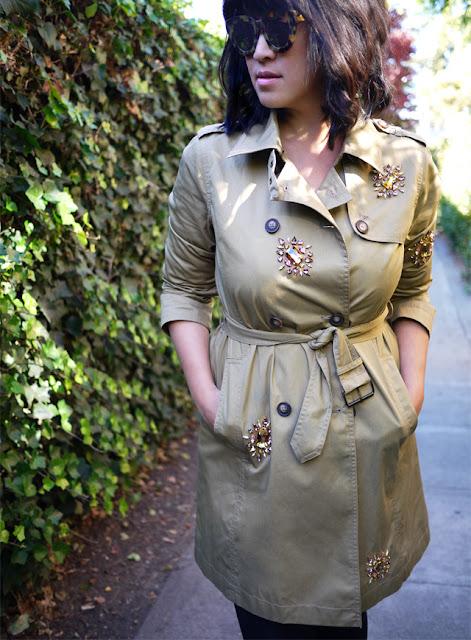 Trenchcoat-yenileme-mucevher-moda-tasarım